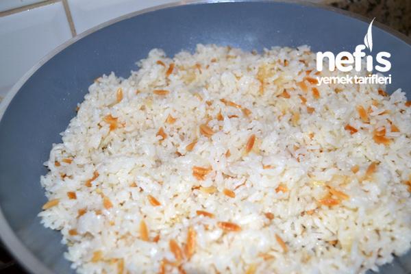 Arpa Şehriyeli Pirinç Pilavı 2