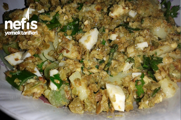 Çağla Salatası Tarifi