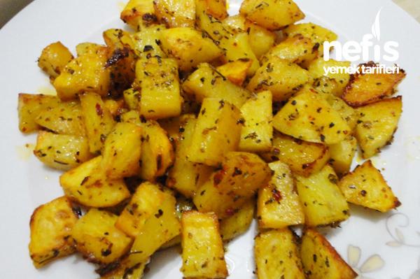 Fırında Patates ve Tavuk Kanat