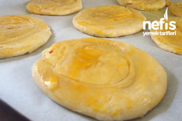 Fırında Patatesli Katmer Börek 1