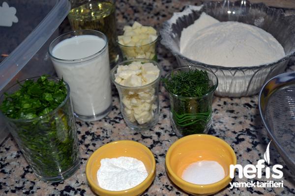 Ispanaklı Tuzlu Kek Tarifi 1