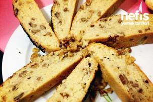 Karbonatlı Cevizli Çörek Tarifi