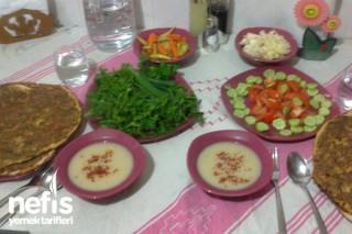 Lahmacun ile Akşam Yemeği Menüsü Tarifi