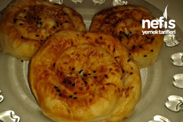 Patatesli Gül Böreği Yapımı (videolu) Tarifi