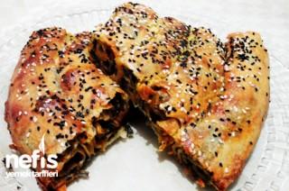 Pazılı Pancarlı Kol Böreği Tarifi