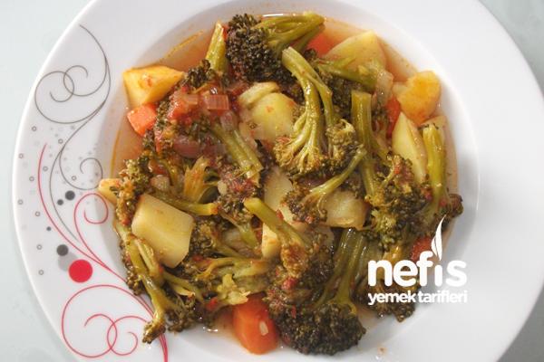 Sebzeli Brokoli Yemeği Tarifi