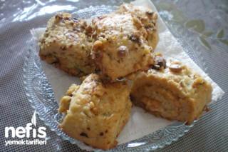 Tahinli rulo kurabiye