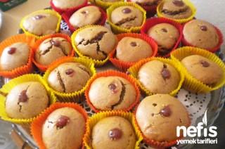 Vişne Kremalı Muffin Tarifi