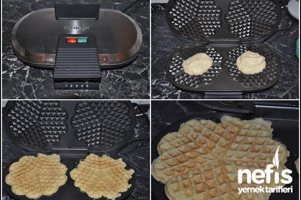 Waffle Tarifi (waffle makinesinde) 2