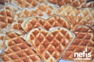 Waffle Tarifi (waffle makinesinde)