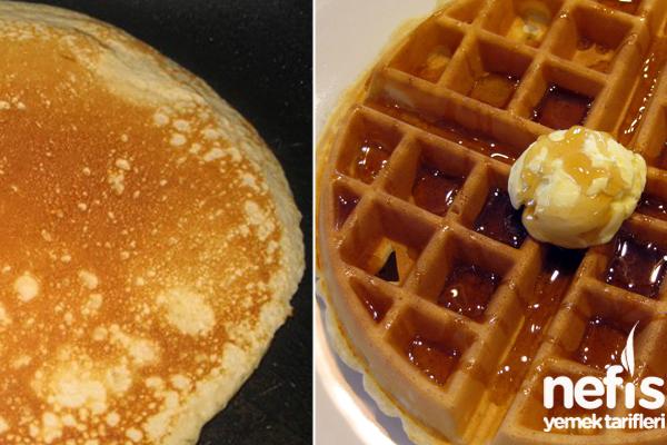 Waffle ve Pancake Hamuru Tarifi
