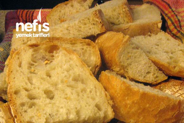 Yoğrulmadan Ekmek Tarifi (No Knead Bread)