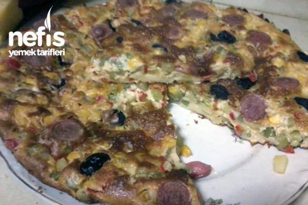 Bahar Pizzası Tarifi