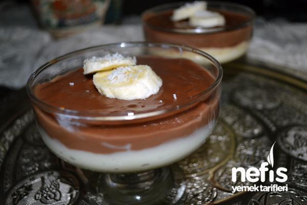Çikolatalı Süt Tatlısı 2