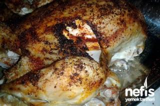 Fırında Kızarmış Tavuk Tarifi