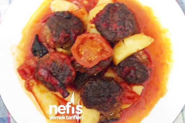 Fırında Köfteli Patates Yapımı Tarifi