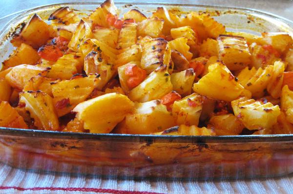Tavuklu Patates Yemekleri Fırında Tavuklu Patates
