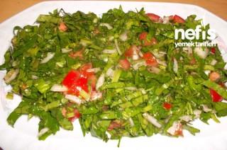 Ispanak Salatası Yapımı Tarifi