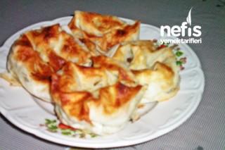 Ispanaklı Gül Böreği Yapımı Tarifi