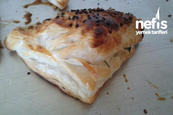 Peynirli Çıtır Milföy Tarifi