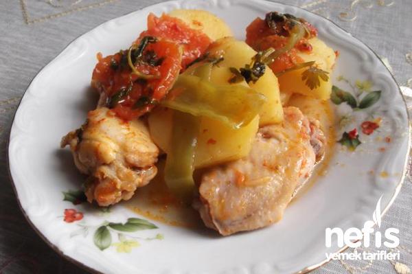 Sebzeli Tavuk Yemeği Tarifi