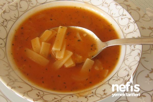 Erişte Çorbası Fotoğrafı
