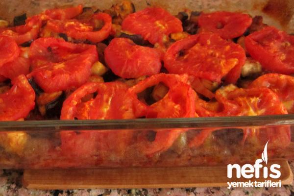Fırında Etli Patlıcan Kebabı1