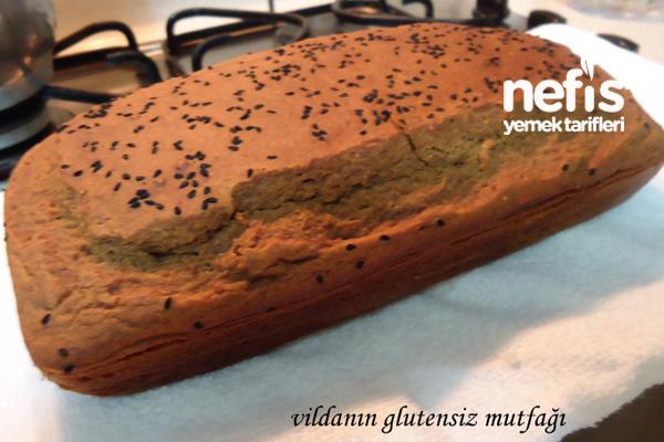 Glutensiz ve Mayasız Ekmek Tarifi