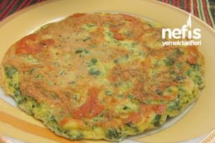 Ispanaklı Omlet Tarifi