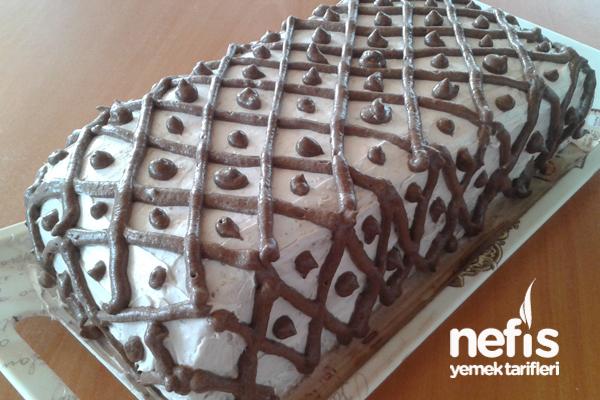 Kakao Kremalı Yaş Pasta 1