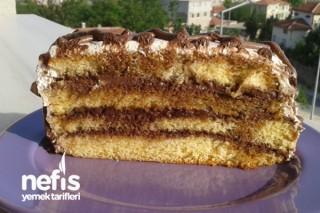 Kakao Kremalı Yaş Pasta Tarifi