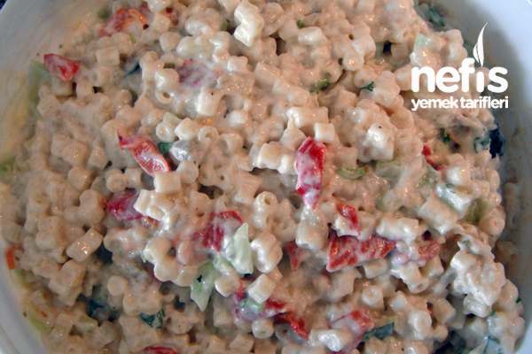 Közlü Makarna Salatası Fotoğraf 1