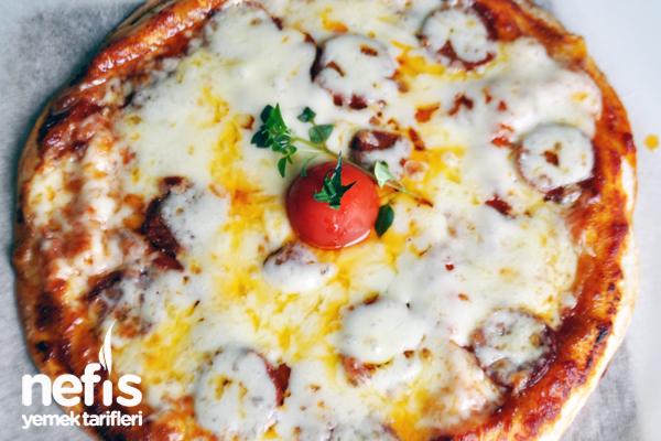 Lavaş Pizza Fotoğrafı 1