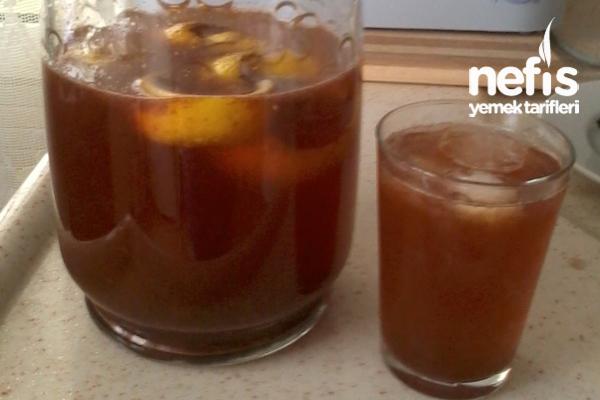 Limonlu Soğuk Çay Tarifi