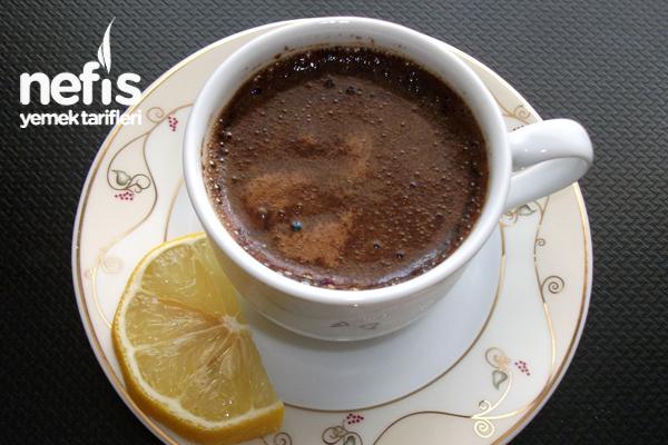 Limonlu Türk Kahvesi Tarifi