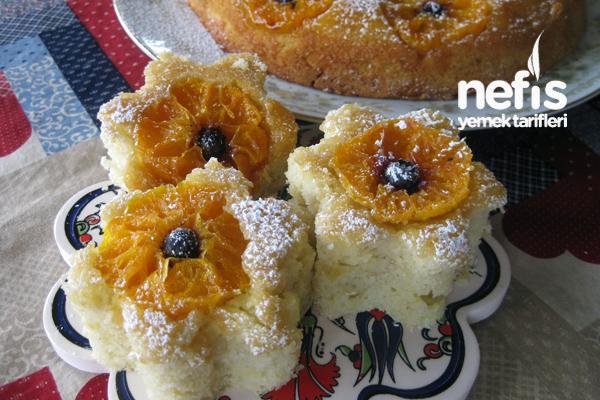 Mandalina veya Portakallı Ters Pasta Tarifi