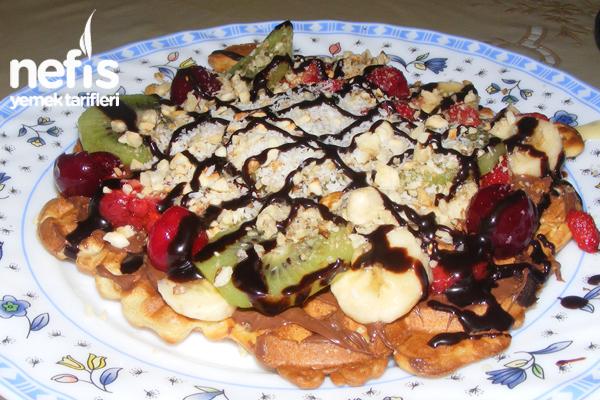 Nefis Waffle Tarifi - Nefis Yemek Tarifleri