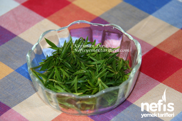 Zahterli (Taze Kekikli) Domates Salatası 2