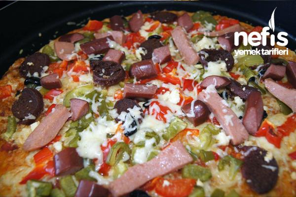Ev Yapımı Pizza Keyfi 1