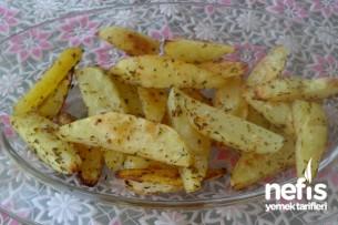 Fırında Acılı Çıtır Patates Tarifi
