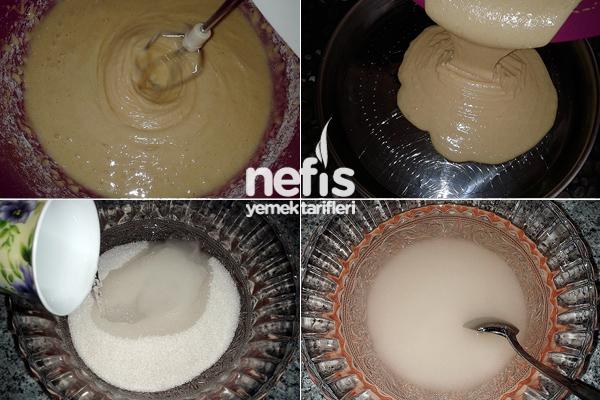 Islak Beyaz Kek 2