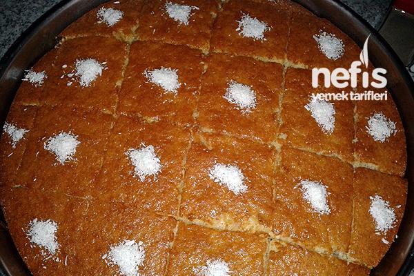 Islak Beyaz Kek 4