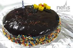 Muzlu ve Labneli Yaş Pasta 1