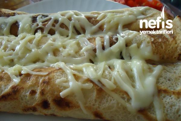 Peynirli Maydanozlu Krep Sarması Tarifi