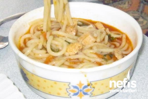 Ramen (Kore Usulü Makarna) Tarifi