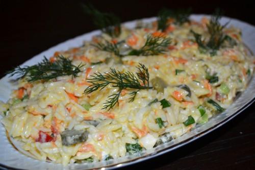 Yoğurtlu Tavuklu Arpa Şehriye Salatası Videosu