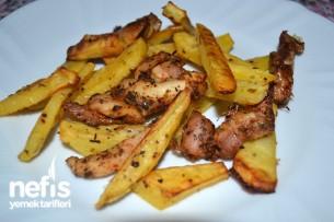 Fırında Tavuklu Patates Yapımı Tarifi