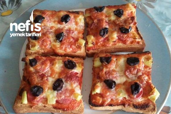 Kahvaltılık Mini Pizzalar Tarifi