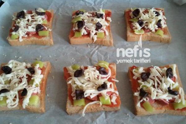 Kahvaltılık Mini Pizzalar 2