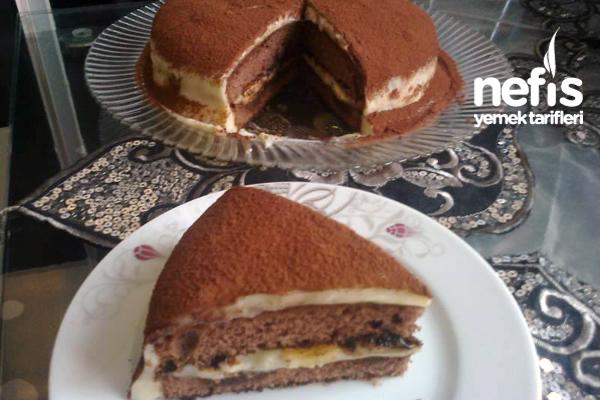 Muzlu Damla Çikolatalı Tiramisu Tarifi